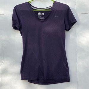 Purple Nike Dri-Fit Shirt